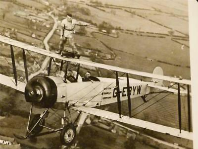 Scrap Album 1930,s AVIATION Real Photographs & Autographs #A4
