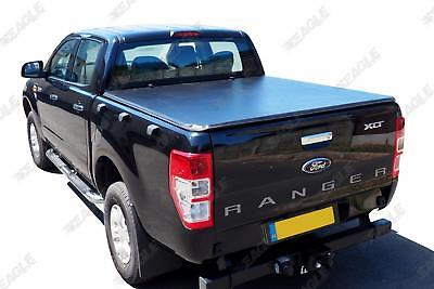 Ford Ranger T6 Soft Fold Tonneau Cover Soft Vinyl Folding Load Bed Cover DC