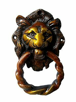 Best Lion Shape Handcrafted Antique Vintage Style Brass Door Knocker,Door Pull