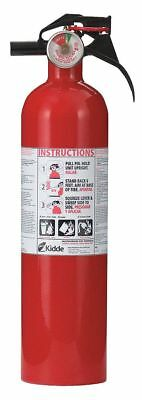 Kidde Dry Chemical Fire Extinguisher with 2.5 lb. Capacity and 8 to 12 sec.