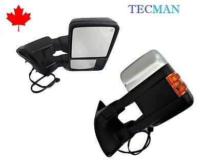 Side mirrors for ford f250 f350 f450 Super duty 2008  2016 Power towing mirrors