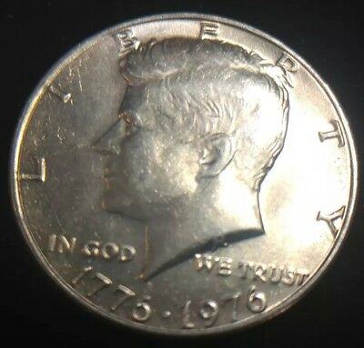 1976 P Kennedy Half Dollar   **toning**free Shipping**while They Last**
