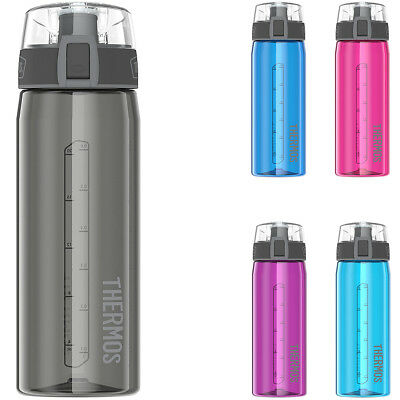 Thermos 24 oz. Eastman Tritan Flip-Cap Hydration Water Bottle with Carry Loop