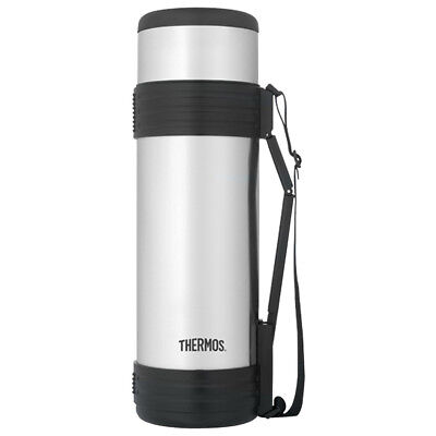 Thermos 61 oz. Vacuum Insulated Stainless Steel Beverage Bottle - Silver/Black