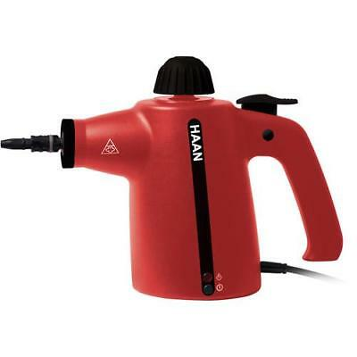 HAAN HR20R HandiPro Handheld Steam Cleaner, Red
