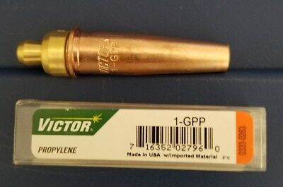 Victor 1-GPP Cutting Torch Tip for Propylene Gas