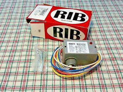 Ribu1C Rib Relay In A Box  *new* Functional Devices Enclosed Relay