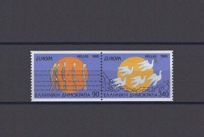 Greece, Europa Cept 1995, Peace & Freedom - Booklet Set, Mnh