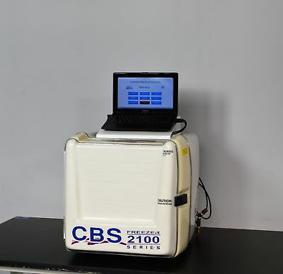 Custom Biogenic Systems 2100 Controlled Rate Freezer Chamber w/ PC Software CBS