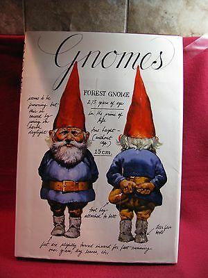 "Rare Book - ""gnomes"" - By Wil Huygen - Illus. By Rien Poortvliet"
