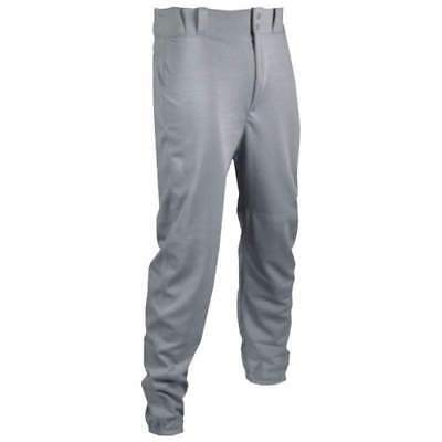 NEW Tag Adult Baseball Pants with Belt Loops Grey Various Sizes TPLA