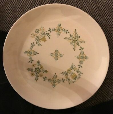 """Vintage 1950's Steubenville Provincetown 10"""" Dinner Plate Made in U.S.A."""