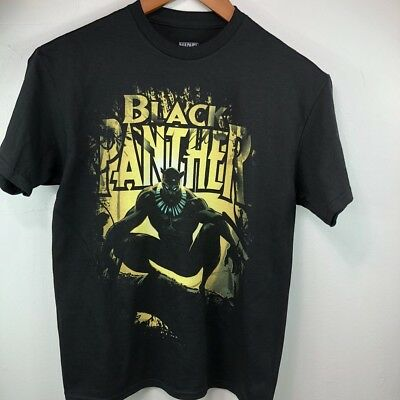 Kids Boy's Marvel Comics Avengers Black Panther T- Shirt  Size: M,L,XL