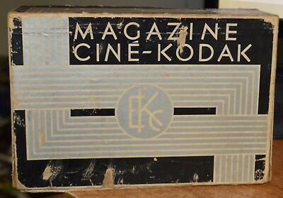 VINTAGE Cine Kodak Royal 16mm Magazine Movie Camera + BOX- NO MANUAL