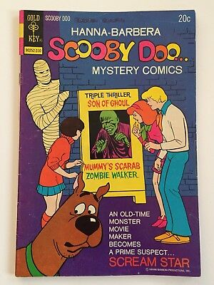 Vintage 1973 Scooby Doo Mystery Comics Issue #21 Hanna Barbera Gold Key