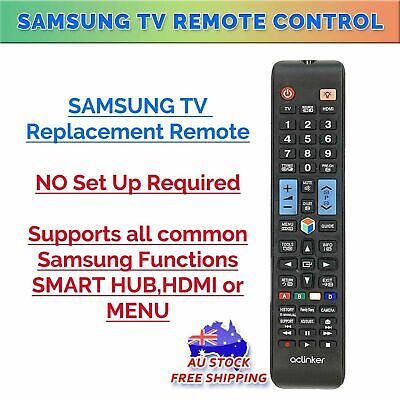 Samsung Smart TV Universal Replacement Remote Control For LCD LED Plasma 3D