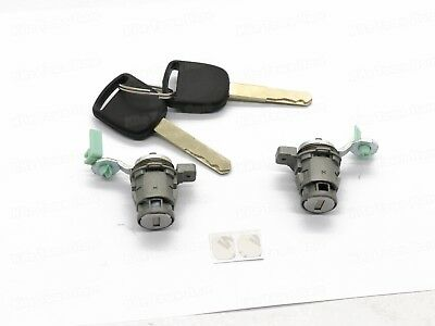 Door Lock Cylinder Front Set Kit Fit Honda Accord Civic Odyssey S2000 with Keys