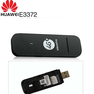 HUAWEI E3372H-153 MOBILE 150Mbps Cat4 LTE 4G 3G USB Modem Dongle PC