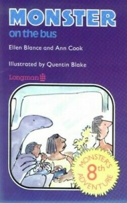 Monster Books: Monster on the Bus Bk. 8 by Cook, Ann Paperback Book The Cheap