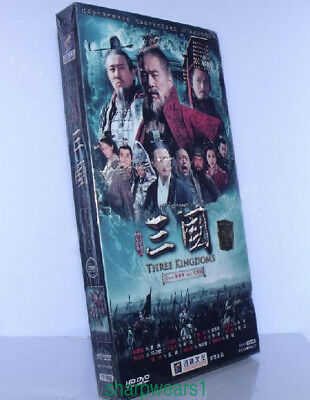2010 NEW Three Kingdoms 三國 18DVD 95episodes English SUbs---Classic China History