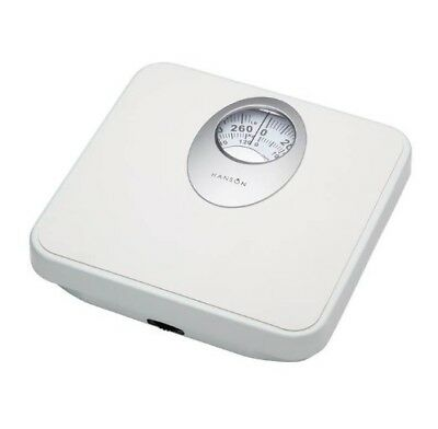 Terraillon Mechanical Bathroom Scale - Magnified Display - White