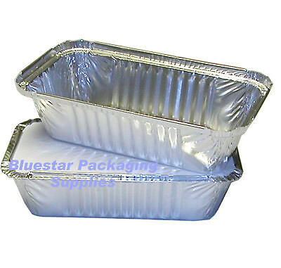 Aluminium Foil Hot Food Takeaway Containers With Lids No2 No6A 9x9x2""