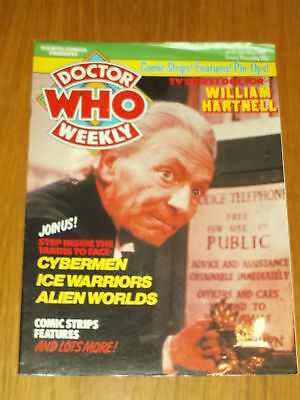 Doctor Who #15 1980 Jan 23 British Weekly Monthly Magazine Dr Who Dalek Cybermen