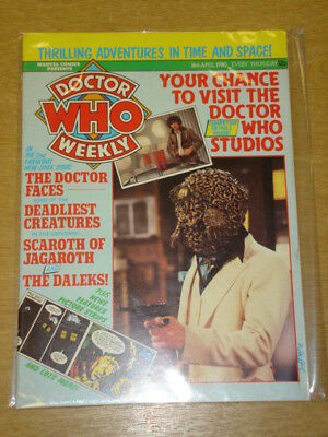 Doctor Who #27 1980 Apr 16 British Weekly Monthly Magazine Dr Who Dalek Cybermen