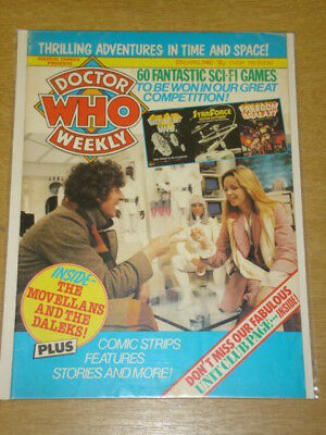 Doctor Who #28 1980 Apr 23 British Weekly Monthly Magazine Dr Who Dalek Cybermen