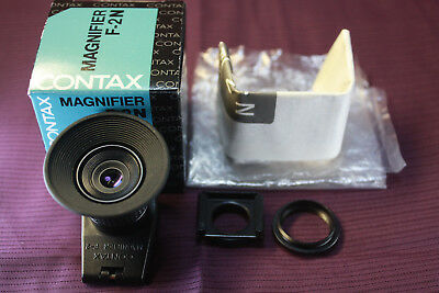 [MINT IN BOX] Contax Magnifier F-2N F2N from Japan