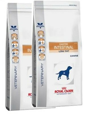 2x 12kg ROYAL CANIN Gastro Intestinal Low Fat LF 22 Vet Diet BLITZVERSAND BRAVAM