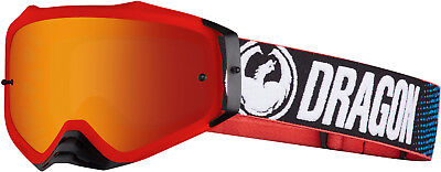 New Adult Dragon Goggles MXV Plus Factory / Red Ion Tinted Lens MX Enduro