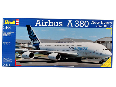 "Revell Modellbausatz Flugzeug 1:144 - Airbus A380 Design New livery ""First Fligh"
