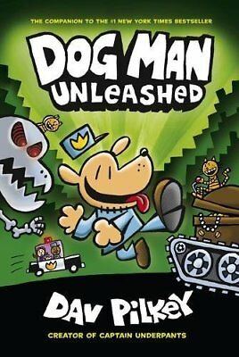 The Adventures of Dog Man 2: Unleashed by Dav Pilkey New Paperback Book