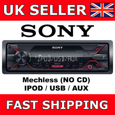 Sony DSX-A210UI Mechless Digital Media Car Van Stereo iPod iPhone USB Aux In