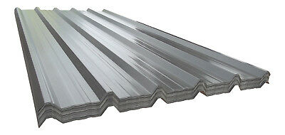32/1000 Juniper Green Steel Roofing Sheets Stable Roof Sheeting Polyester 0.7mm