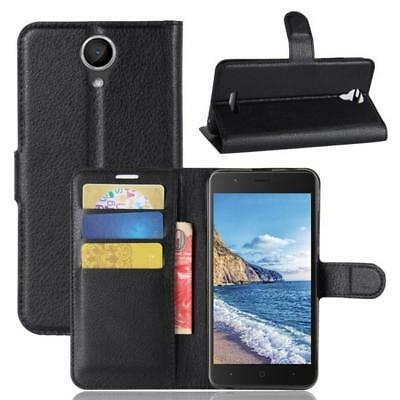 Wiko Harry Coque de protection Housse Pochette Wallet Case Noir