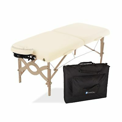 EARTHLITE Avalon Portable Massage Table Package Flat  Reiki Endplate Premium ...