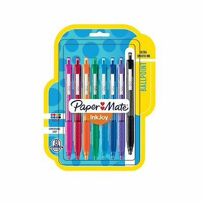 Paper Mate InkJoy 300RT Retractable Ballpoint Pens Medium Point Assorted Colo...