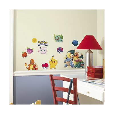 RoomMates RMK2535SCS Pokemon Iconic Peel and Stick Wall Decals Multicolor
