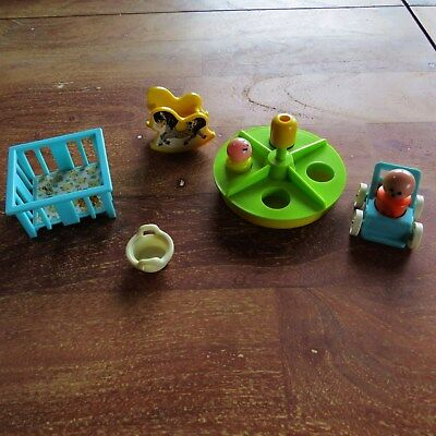 Fisher Price Play Family  70er Jahre Vintag