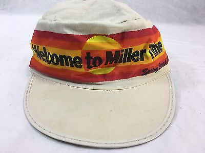 Miller High Life Spring Break 1984 '84 Beer Painters Hat Cap One Size Fits All