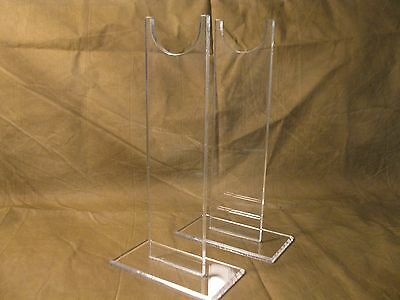 """Acrylic 9"""" Tall  Vintage Antique Firearms Rifle Musket Display Stand"""