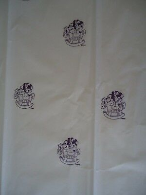 Baby MICKEY & MINNIE Rocking TISSUE PAPER Hand Stamped Gr8 4 gift giving K@@L