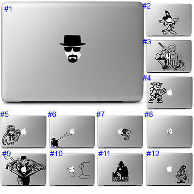 Apple Laptop Macbook Pro Air 13 15 Notebook Decal Sticker Cute Cool Vinyl Design
