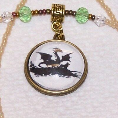 Cardigan Welsh Corgi, Corgi, Necklace, Silhouette Cameo Art, Signed, Ooak