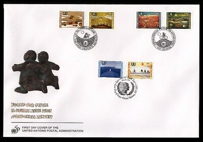 COURIER FDC - 1995 10th ANNIV. YOUTH YEAR, UNPA CACHET