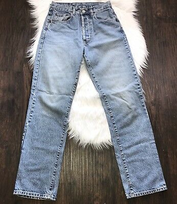 Lucky Brand Vintage Jeans Acid Wash High Rise Mom Easy Fit Button Fly Size 8 /29