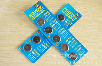 New CR2025 2025 DL2025 3V Alkaline Button Cell Coin Watch Batteries