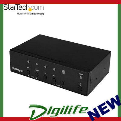 Startech Multi-Input To Hdmi Automatic Switch And Converter - 4K